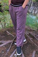 Bilde av Soya stripe sleng bukse