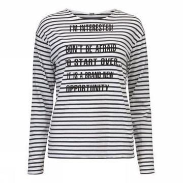 Bilde av Gustav Striped t-shirt with print