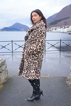 Bilde av Alix Animal Teddy Coat