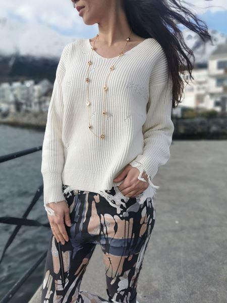 Bilde av Nü 6355-50 genser
