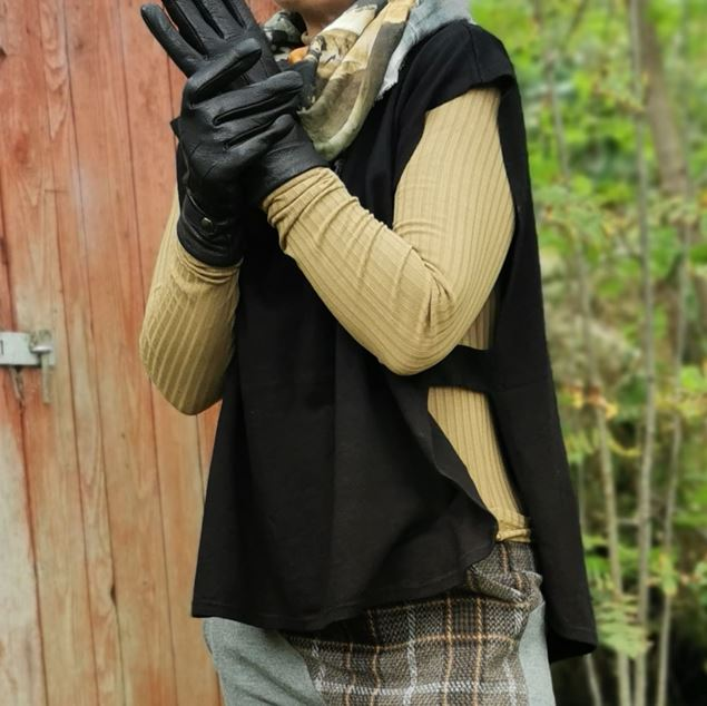 Bilde av Street One Poncho Knit hoodie