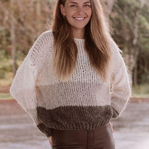 Bilde av Floyd Brenda strikkegenser